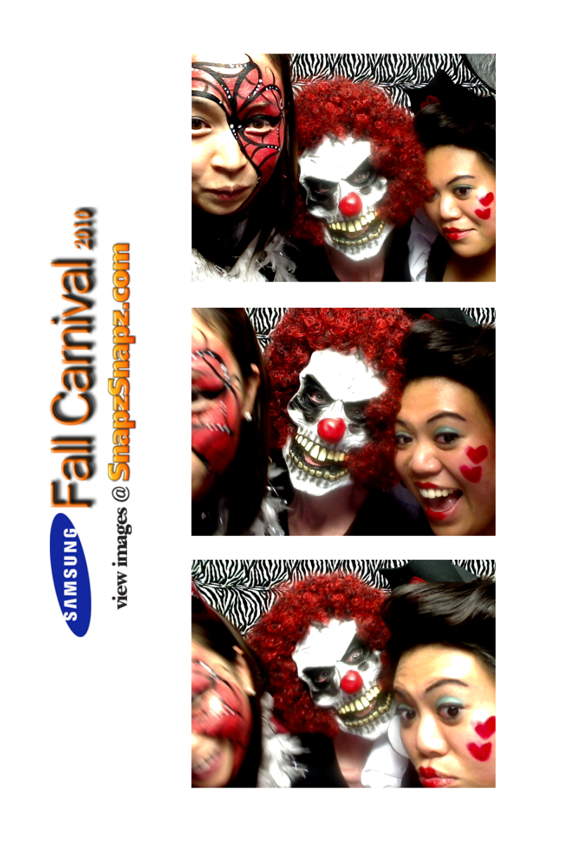 Dallas Photo Booth Halloween party at Samsung Headquarters |