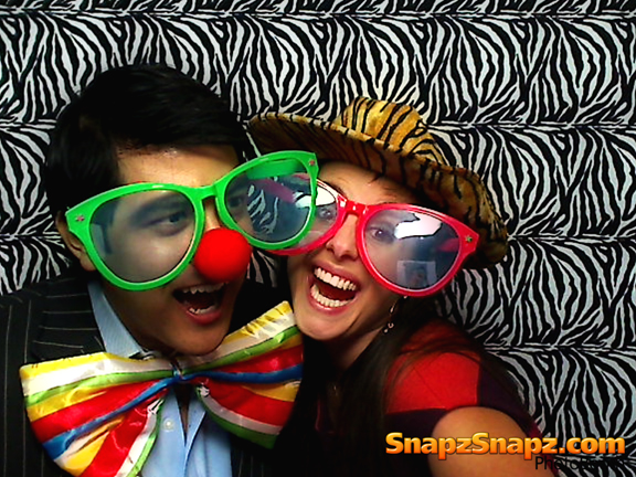 office party photo booth